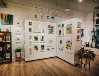 Light Gallery + Studio opened in Grand Rapids' Heartside neighborhood in 2016.