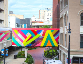 Kaleidoscopic by Amanda Browder - Campau Skywalk