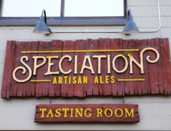 Speciation Artisan Ales sign