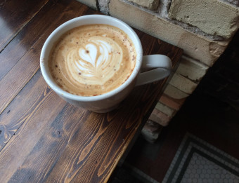 The Lantern Coffee Bar and Lounge's coffee creations are works of art.