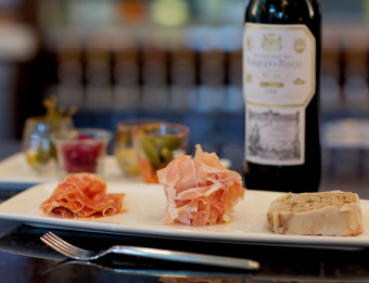 Charcuterie and wine at Reserve Food & Wine in Grand Rapids