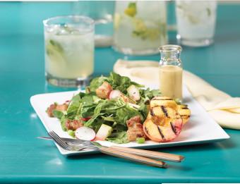 Food - Peach Salad