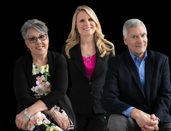 The Experience GR Sales Team, Mary Manier, Tim Nelson & Andie Newcomer