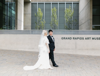 The Grand Rapids Art Museum can accommodate up to 225 guests.