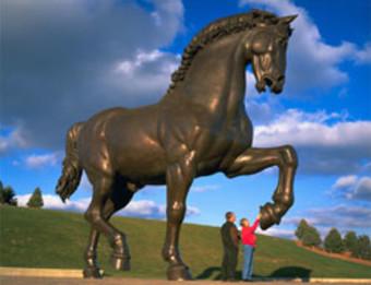 Meijer Gardens Horse