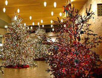Meijer Gardens Holiday Trees