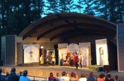 Greenfield Lake Amphitheatre Shakespeare by Connie Nelson