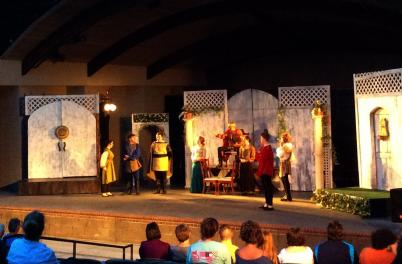 Greenfield Lake Amphitheatre Shakespear
