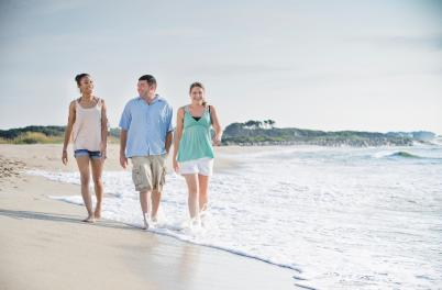 Friends getaway on Kure Beach