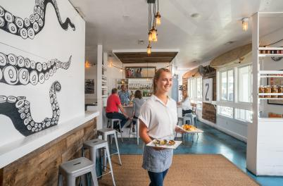 Surfhouse Oyster Bar and Surf Camp