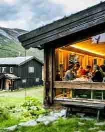 Sota Sæter, en stuga i Breheimen i Norge