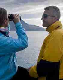 Boat trip in Troms