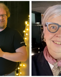 F.v. Lone Synnøve Hegg (Bli god på nett / 2.0), Pål M. Medhus (Opplevelseskurset), Märit Torkelsson (Godt vertskap) og Børre Berglund (Pakkekurset)
