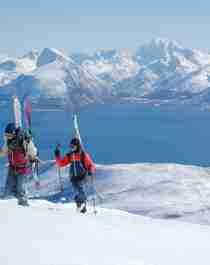 Ski touring in Vesterålen