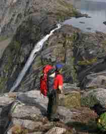 Vandring i Rago nasjonalpark i Nord-Norge