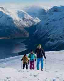 Ski touring Loen Skilift