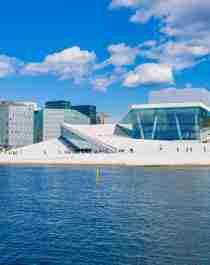 Deichman Bjørvika, Oslo Opera House, Munch Museum in Oslo, Eastern Norway