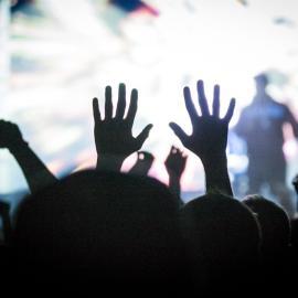 Crowd at Twilight Concert Series