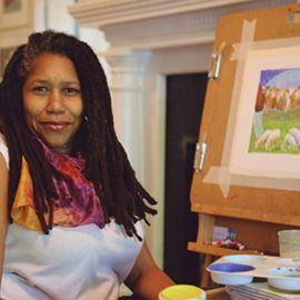 Artist Linda Dallas