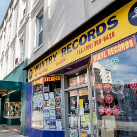 Wuxtry Records Athens GA