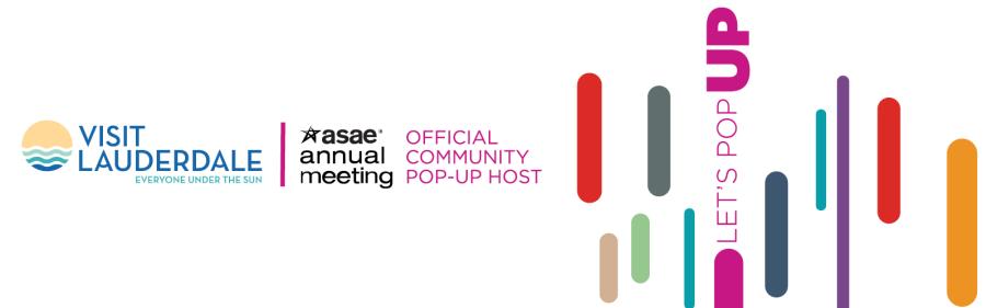 Visit Lauderdale hosts ASAE Annual Meeting