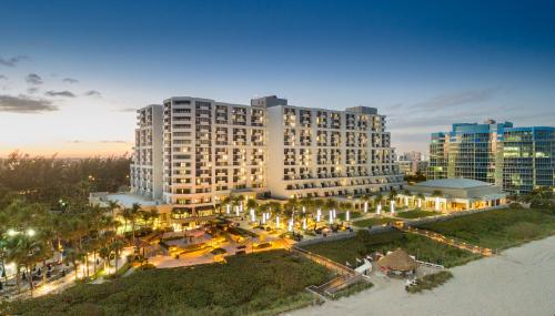 Fort Lauderdale Marriott Harbor Beach Aerial Image
