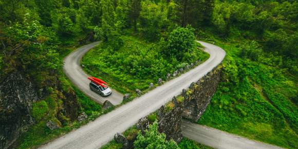 Getting around by car | Driving in Norway