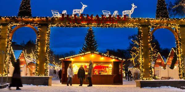 Christmas market in Oslo