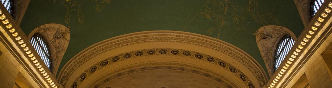 Grand Central Terminal, Interior, Star Ceiling, Clock