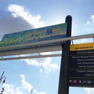 Downtown Houston Signage