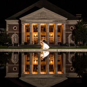 Hall of Springs Wedding at Night