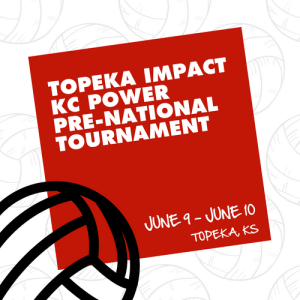 Topeka Impact/KC Power Pre-National Invitational