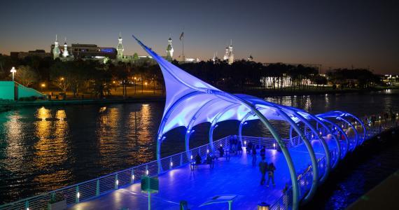 Tampa Riverwalk Canopy