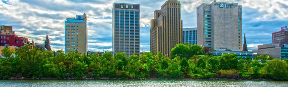 Newark Daytime Skyline
