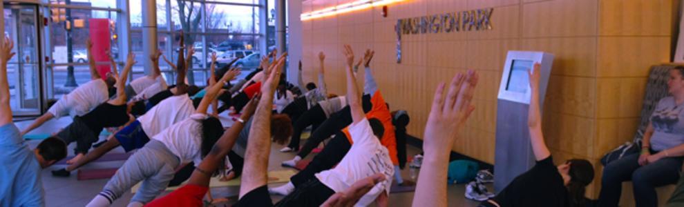 Yoga at Washington Park