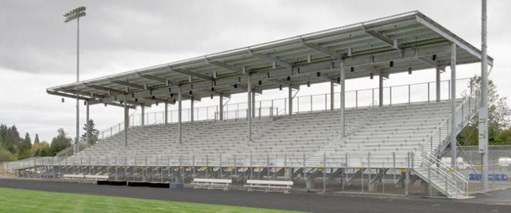 Hockinson School District bleachers