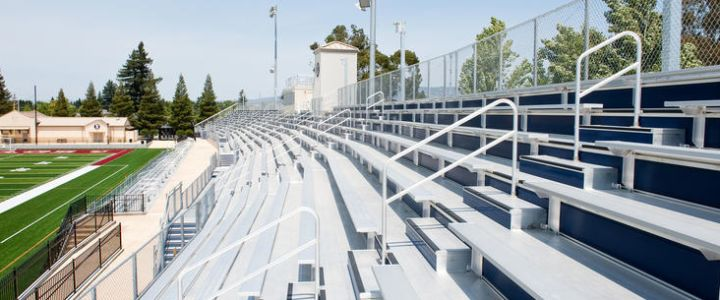Napa Valley High School bleachers
