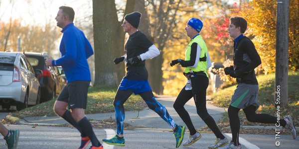 Madison Runners in Fall
