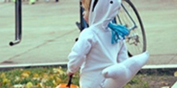 Kid in Costume