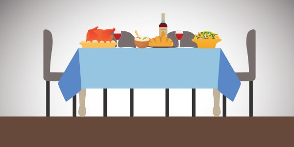 Winter Table :: Holiday Feast