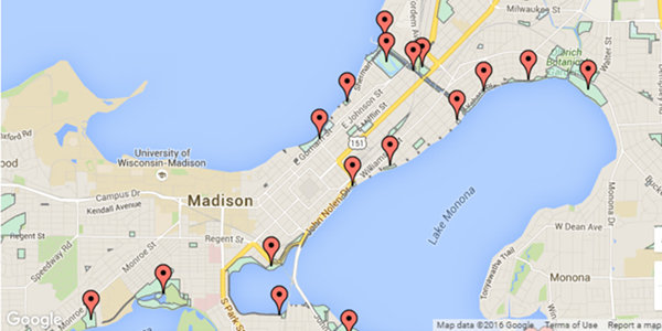 Fishing Spots: City of Madison