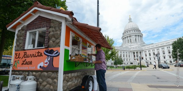 Food Carts on Capitol Square