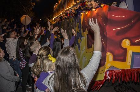 Mardi Gras - Krewe of Olympia parade