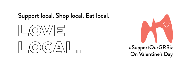 Support local. Shop Local. Eat Local.