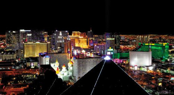 Las Vegas Rooftop Skyline