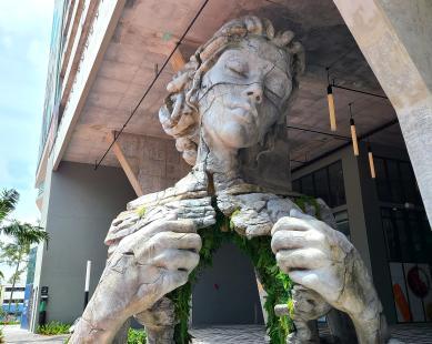 Thrive Sculpture by Daniel Popper