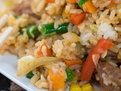 Fried Rice from Arctic Sushi