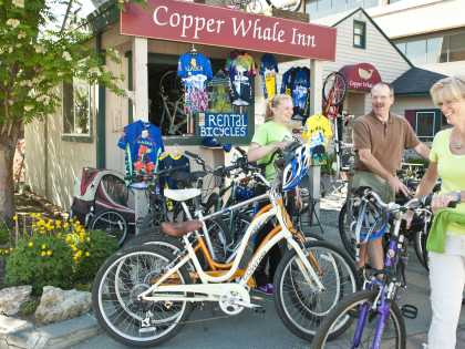 Bike tours and rentals in Anchorage