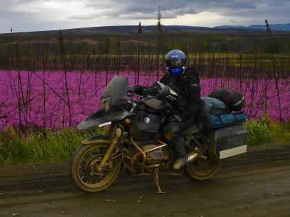 Alaska motorcycle tours dalton highway