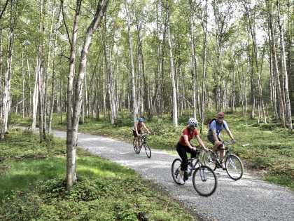 Anchorage biking trails